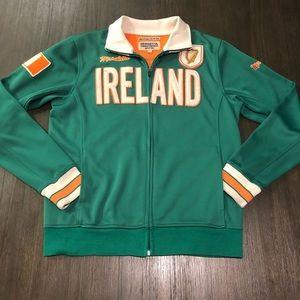 Ireland Men's Soccer Full Zip Warm Up Jacket